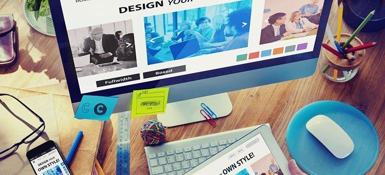 مميزات التصميم وإنشاء الموقع Website Designing & Building Tools