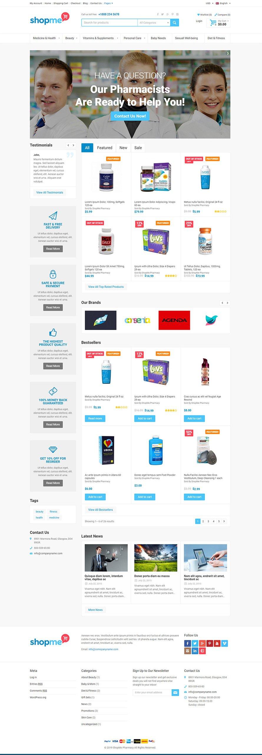 تصميم متجر إلكتروني - يتناسب مع أي نوع من المتاجر