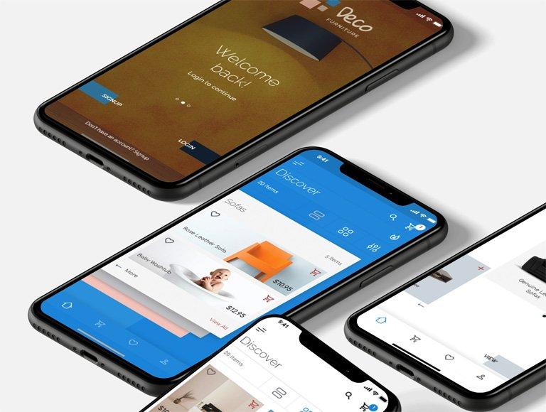 تصميم تطبيقات الجوال Android و IOS