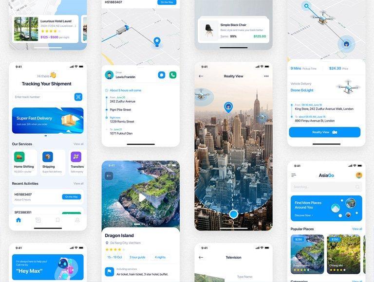 تصميم تطبيقات Android و IOS